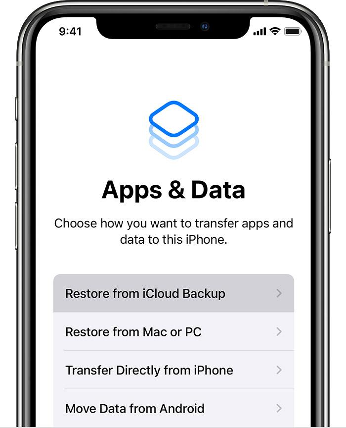 dịch vụ chuyển dữ liệu iphone